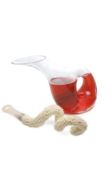 阿芙罗狄蒂醒酒器+洗涤件(普特尔 Pulltex)