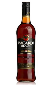 百加得黑朗姆酒