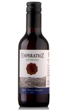 女王徽章西拉赤霞珠干红葡萄酒187.5ml(DeAguirre酒庄)