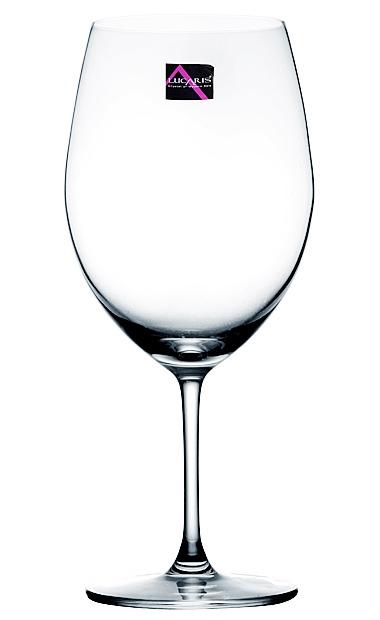 lucarisv葡萄无铅葡萄波尔多酒杯平板745ml半自动水晶硫化机图片