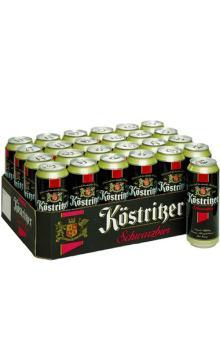 德国原装进口啤酒卡力特 酷者黑啤500ml*24罐装 酒质