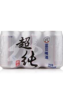 蓝贝超纯啤酒330ML*24瓶装