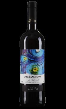 圣卡斯印象蓝色边界干红葡萄酒