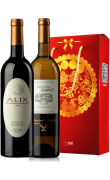 帕克高分酒猴年礼盒(普莱萨斯庄园干白葡萄酒+莱萨斯庄园干红葡萄酒)