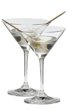 醴铎Riedel 宫廷系列马天尼型酒杯(两只装)
