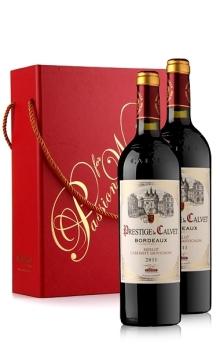 典藏波尔多礼盒(考维酒园典藏干红葡萄酒X2+带拎绳礼盒)