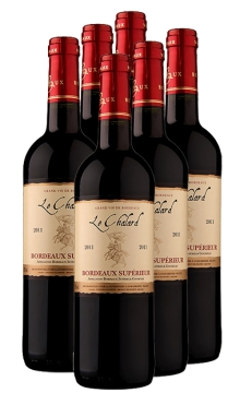 勒轩骑士干红葡萄酒-6支装