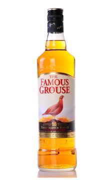 洋酒包邮TheFamousGrouse威雀威士忌酒