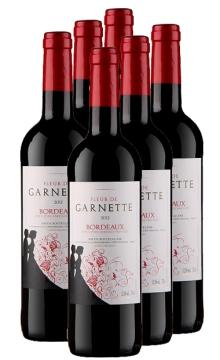 法国波尔多浓情玫瑰红葡萄酒-6支装