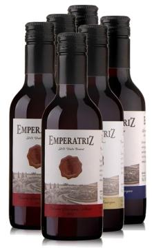 女王徽章干红葡萄酒小瓶(DeAguirre酒庄)-6支装