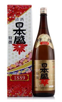日本盛特撰清酒1800ML日本原装进口