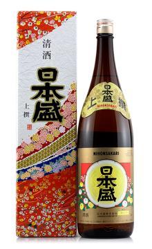 日本盛上撰上选清酒1800ml淡丽辛口