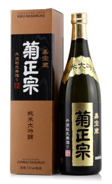 日本原装进口菊正宗纯米大吟酿清酒720ml