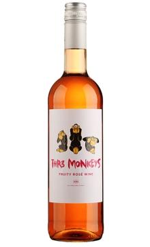 三只猴子桃红葡萄酒(猴年款酒)