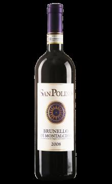 圣保利诺 布鲁内洛蒙塔奇诺干红葡萄酒2008
