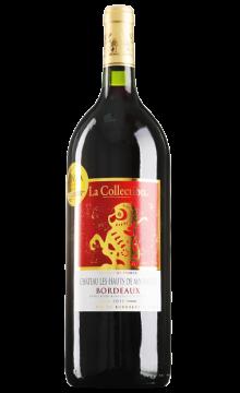 金圣城堡甄藏波尔多干红葡萄酒1.5L