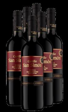 西莫干红葡萄酒-6支装
