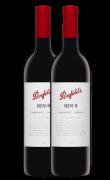 澳洲奔富BIN8赤霞珠西拉子紅葡萄酒 奔富酒園 澳大利亞進口紅酒 雙支 750ML*2
