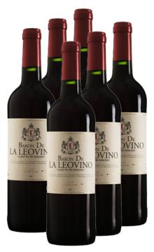 双狮男爵特选干红葡萄酒6只装