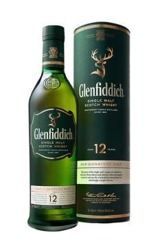 格兰菲迪12年苏格兰单一麦芽威士忌