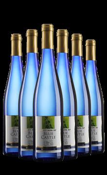 德国蓝堡甜白葡萄酒(又名:德国蓝堡甜蜜极冰甜白葡萄酒)六支装(民生专享)