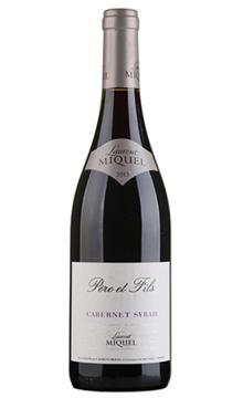 劳伦米格尔父子系列赤霞珠西拉干红葡萄酒
