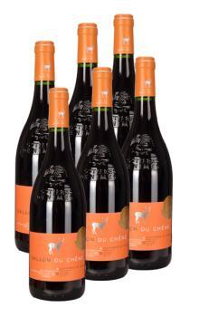 雪鹿山谷红葡萄酒-6支装(新老包装随机发货)