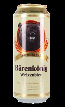 德国帝熊小麦啤酒500ml*12