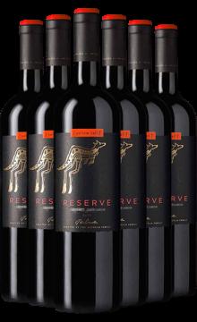 黄尾袋鼠签名版珍藏梅洛红葡萄酒750ml*6 整箱6支装