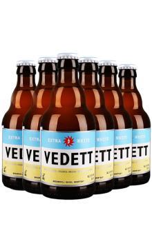 督威集团 白熊 艾尔啤酒 清爽怡人 6支装明星款 比利时 精酿