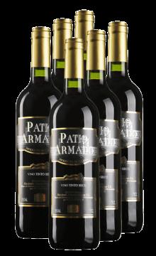 西班牙派特干红葡萄酒-6支装