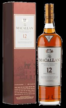 麦卡伦12年苏格兰单一麦芽威士忌