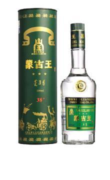 白酒 蒙古王酒绿桶38度500ml