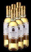 蒙特斯晚收贵腐甜白葡萄酒  6支整箱装 375ml*6