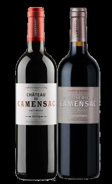 【名庄】卡门萨克庄园干红葡萄酒 正副牌双支礼盒装