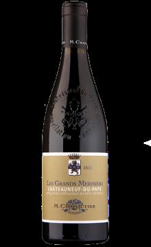 莎普蒂尔教皇新堡大樱桃干红葡萄酒2012(全球海淘精选)